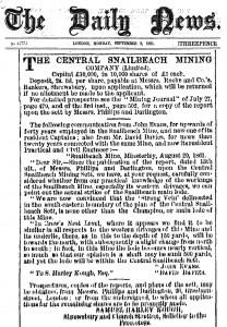 daily_news_central-snailbeach_mine_shareissue_10000sh_at_1L-each_1861