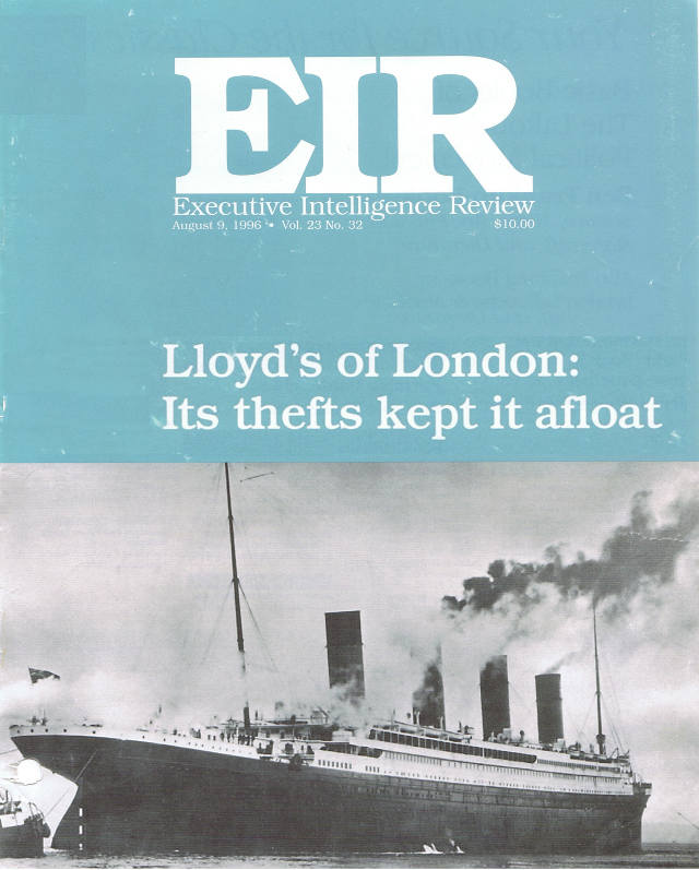 LLOYDS OF LONDON: its frauds kept it afloat