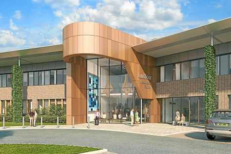 "PFI FACADE: ""the new £27m Ludlow Hospital"""