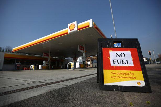 SORRY!:  no fuel