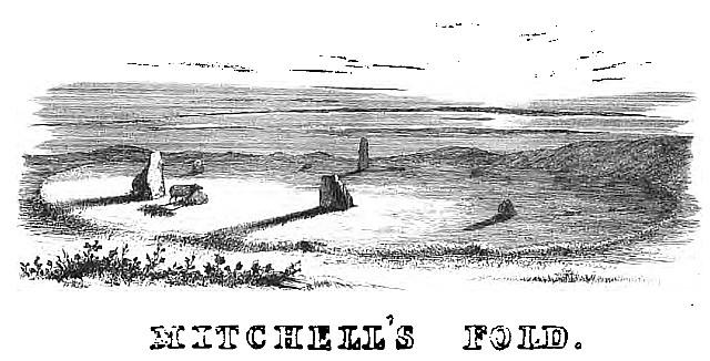 MITCHELL's FOLD: 1841 sketch