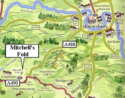 MITCHELL'S FOLD: south-west Shropshire